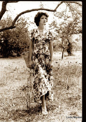 In an olive grove next to my house in Ibiza 1973